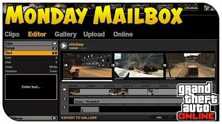 GTA 5 Online - Daily Challenges for a Month Reward & Video Editor on PC! (Monday Mailbox) [GTA V]