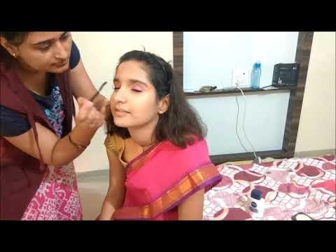 Jhansi Ki Rani Lakshmi Bai Makeup For School Fancy Dress Competitionझांसी की रानी लक्ष्मी बाई मेकअप