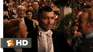 Gone with the Wind (2/6) Movie CLIP - Bidding for Scarlett (1939) HD