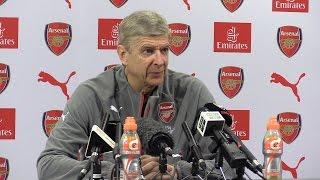 Arsene Wenger Full Pre-Match Press Conference - Manchester United v Arsenal