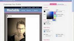 Mashable Social Network Screencast