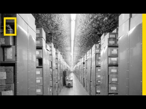Inside This Mountain, Old Films Live Forever | National Geographic