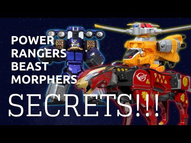 Power Rangers Beast Morphers Secret Connections!