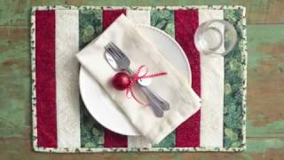 Quilt-As-You-Go Place Mat
