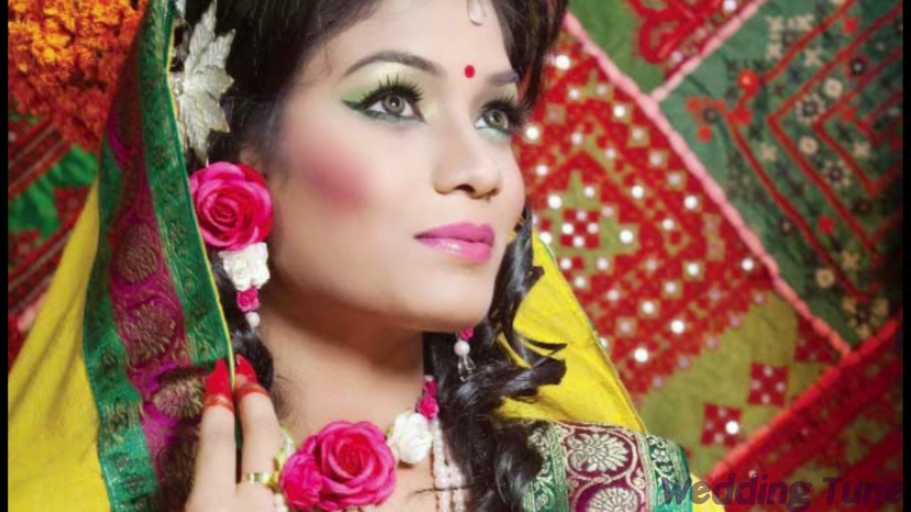 Holud Shondha Wedding Cosmetics Makeup Part 02