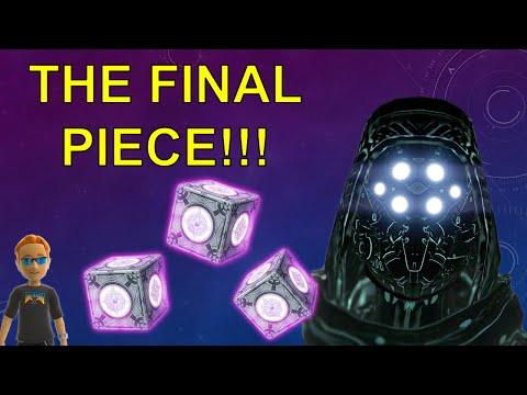 Destiny 3x Sterling Treasure Taken Gear Loot Set Hunter
