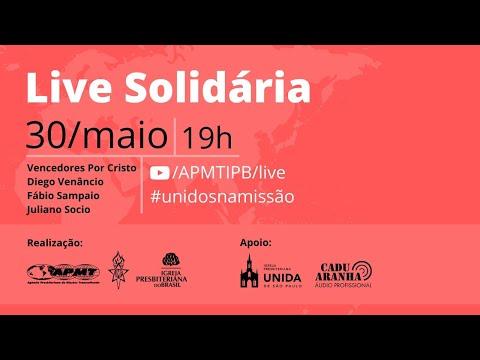 LIVE Solidária Da APMT Com Vencedores Por Cristo