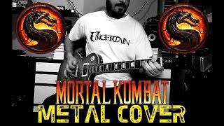 MORTAL KOMBAT - Metal Cover | BGkakos
