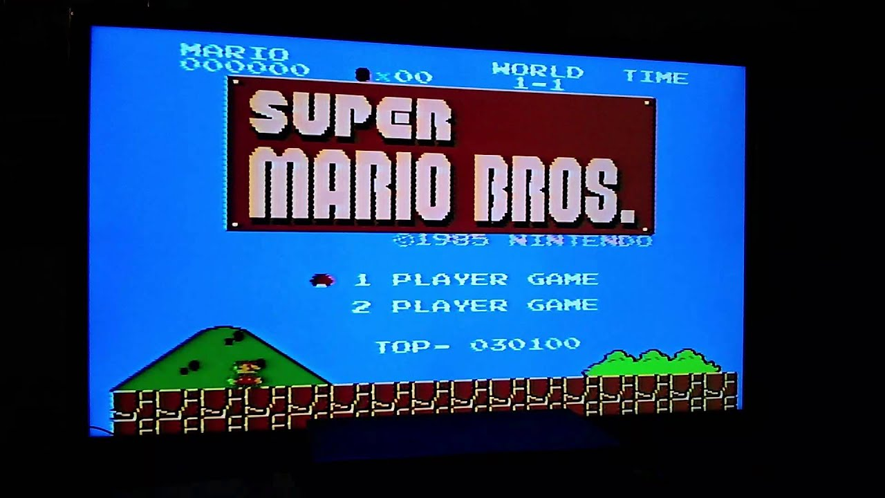 super mario brothers on nes resume on game over youtube