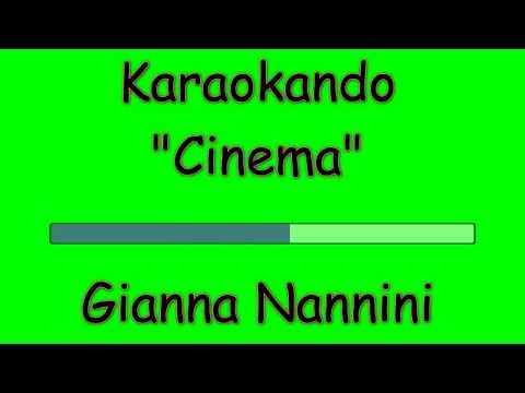 Karaoke Italiano - Cinema - Gianna Nannini ( Testo )