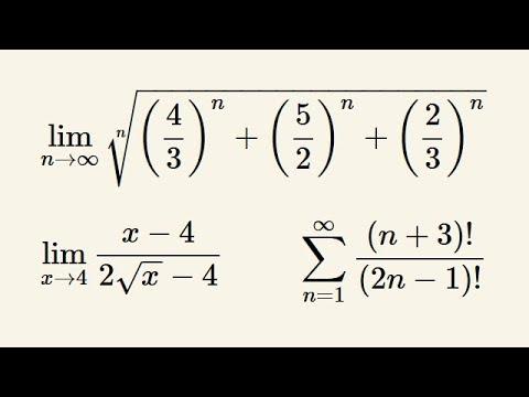 Analiza matematyczna – kolokwium – omówienie