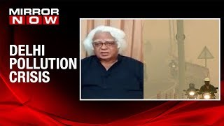 Environmentalist, Anand Arya speaks on air pollution in the capital | EXCLUSIVE