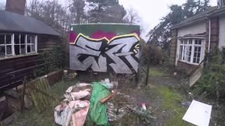 Graffiti - Ghost EA - Abandoned Care Home