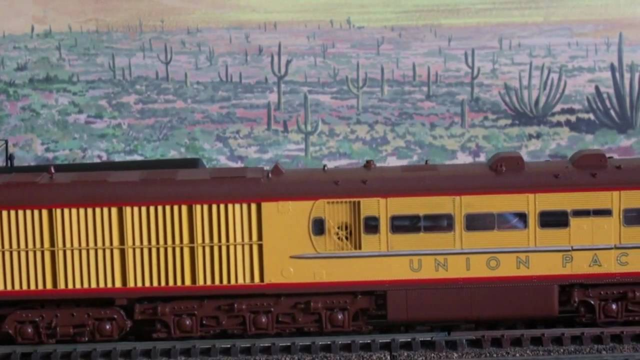 Union Pacific Ge Steam Turbine 1 Amp 2 Ho Scale Overland