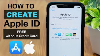 How to Create Fŗee Apple ID without Credit Card on iPhone? ✅Latest Method ✅(2021)
