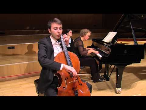 Mendelssohn Cello Sonata No. 2 in D major Op. 58 - I Allegro assai vivace