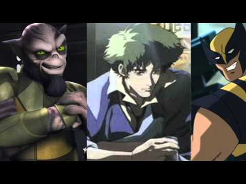 Steve Blum Voices Zeb, Spike Spiegel, and Wolverine at a Bar