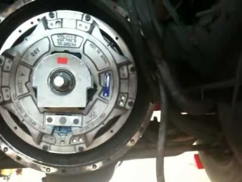 A Diesel Truck Clutch replacement