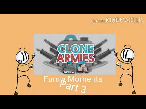 Clone Armies Funny Moments Part 3 (PLS WATCH, AND LIKE THE VIDEO)