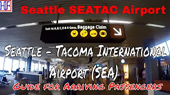 Seattle -Tacoma International Airport (SEA)–Arrivals and Ground Transportation Guide(SEATAC Airport)
