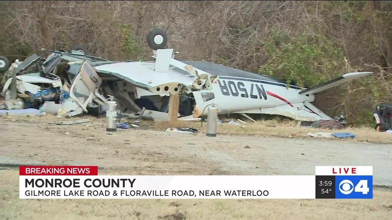 Plane crash reported near Waterloo Illinois