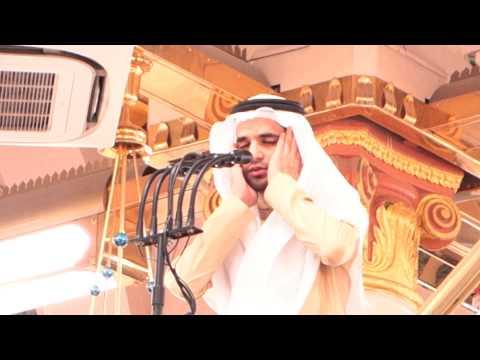 Azdhan Subuh di Raudhah Masjid Nabawi, Madinah.