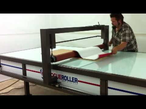 Rogueroller Table For Vinyl Signs Applicator Youtube