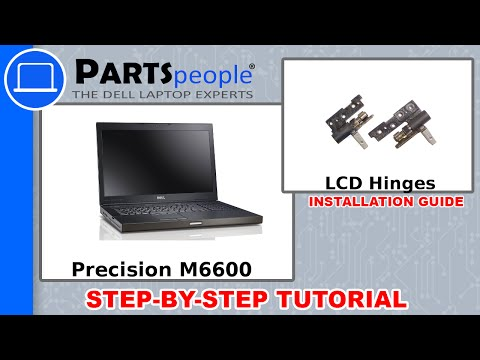 Dell Precision M6600 LCD Hinge How-To Video Tutorial