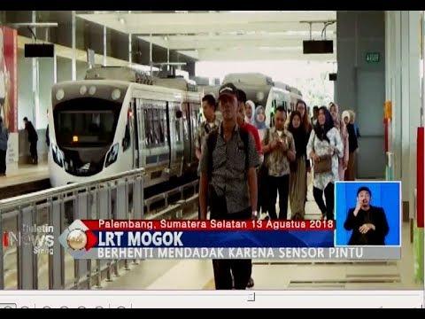 3 Kali Mogok, Warga Palembang Tetap Antusias Jajal LRT  BIS 1408
