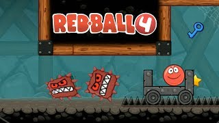 Red Ball 4 Ipad Gameplay #7 - Survival In The Minions Caves | Fun Games for Kids