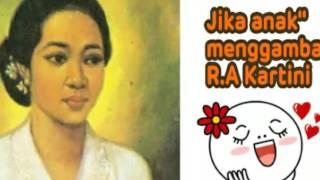 Download Video Menggemaskan!! Jika Anak-anak Menggambar R.A Kartini MP3 3GP MP4