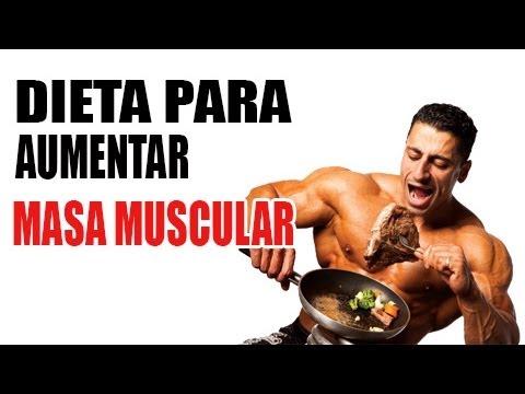 Dieta Para Aumentar Masa Muscular - Dietas Para Subir Peso