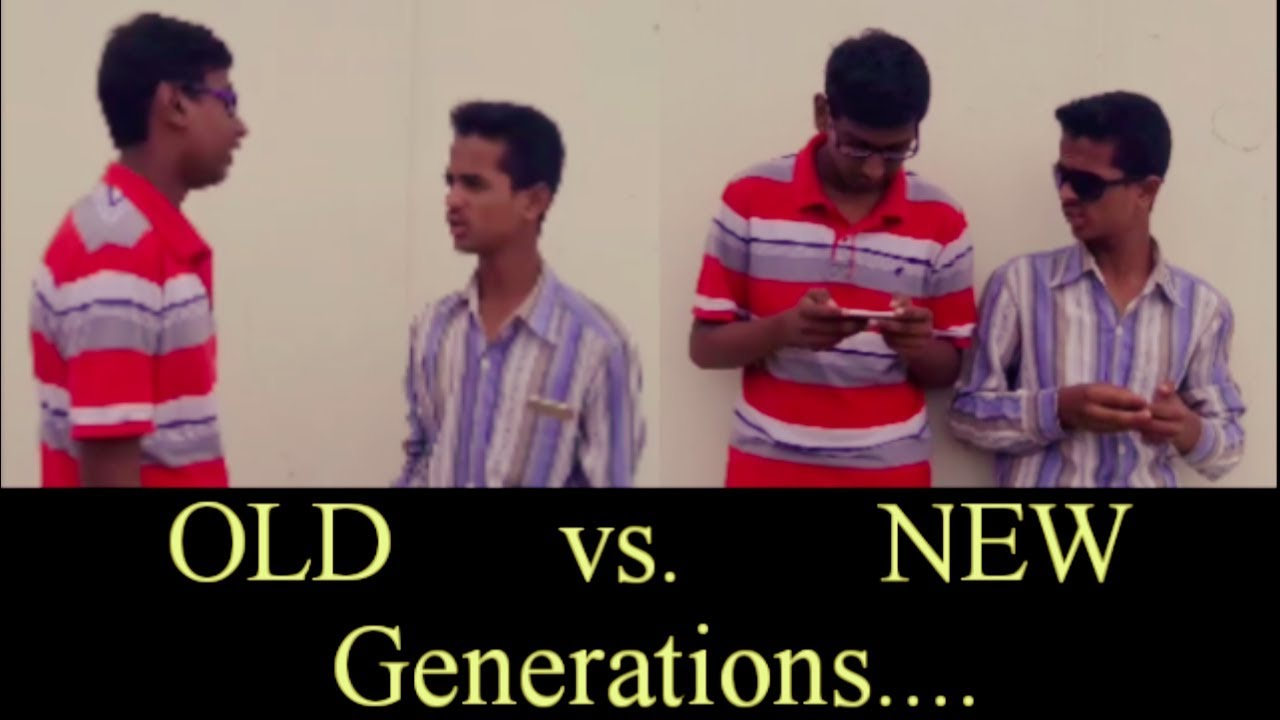 old generation vs new generation essay Looking at the generation gap generational generation gap can be a frustrating lack of communication between young and old or a useful stretch of time.