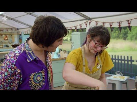 Bake Off's Kim-Joy Breaks Down In Tears And It's Noel Fielding To The Rescue