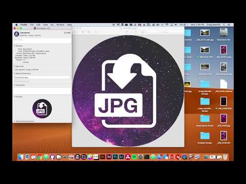 Easily Batch Convert Any Image File To JPG Format On Mac