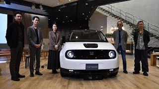 Honda e Design Event  デザイナートーク Designer Talk Show Movie