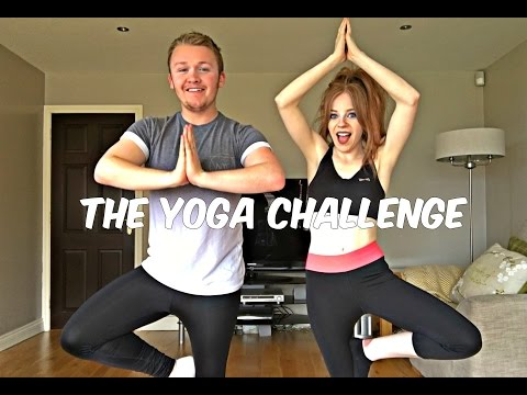 The Yoga Challenge  Kyle & Clare