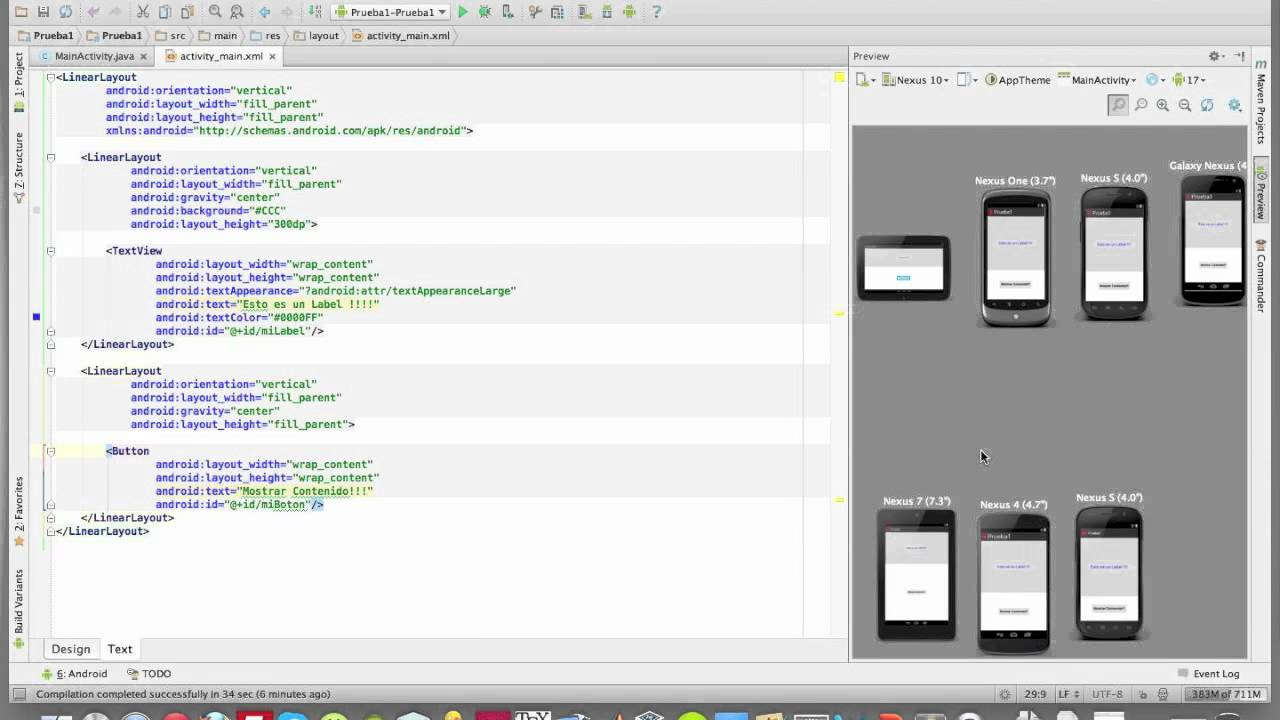 Introducción a Android Studio (Tutorial) - YouTube