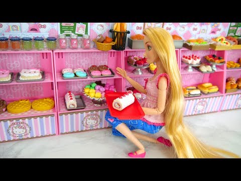 Dessert Cake Cafe For Barbie Dolls Toko Roti Padaria Boulangerie Bäckerei الحلوى مقهى