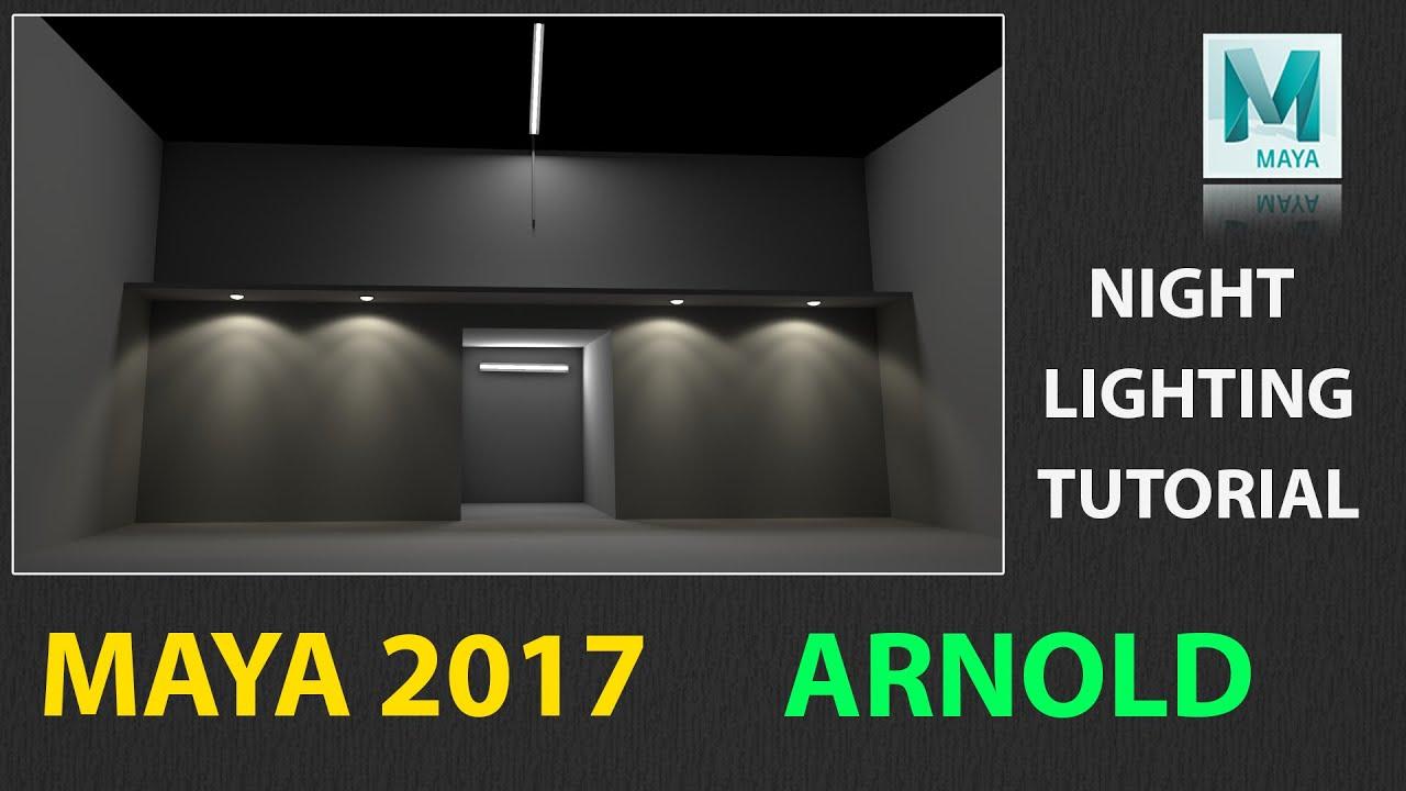 Maya 2017 night lighting tutorial using arnold youtube baditri Gallery