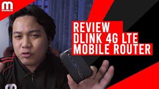 4G Portable Wifi Yang Mantul! Review Dlink 4G LTE Mobile Router DWR-932C