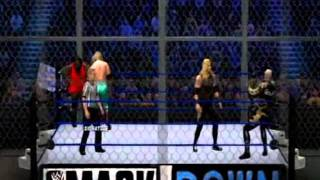 WWE 12 Smackdown 1999 custom arena FULL MATCH