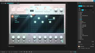 learning to Make Music (Audiotool): Machiniste