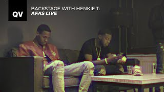 Backstage with Henkie T (in de AFAS Live)