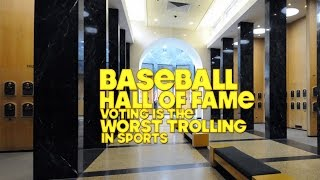Baseball Hall of Fame Voting is the Worst
