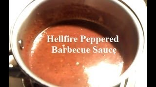 Hellfire Peppered Barbecue Sauce - Low Carb