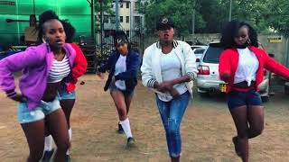 STEFFLON DON - 16 SHOTS DANCE COVER BY gQ DANCERS KENYA