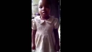 Funny Video: Little girl Remix and sing Phyno ft Olamide Fada Fada Song