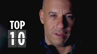 Top Ten Fast & Furious 6 Clips (2013) - Vin Diesel Movie HD