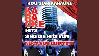 Gina, das ist die Liebe (In Style Of Nockalm Quintett) (Karaoke Version)